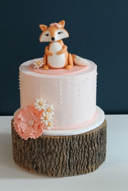 foxy baby cake