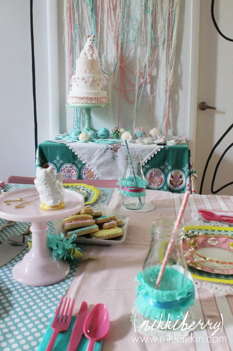 vintage cat lady party