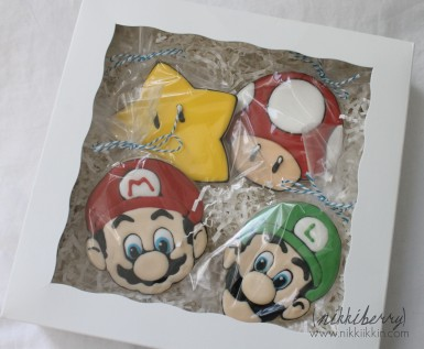 super mario bros cookies